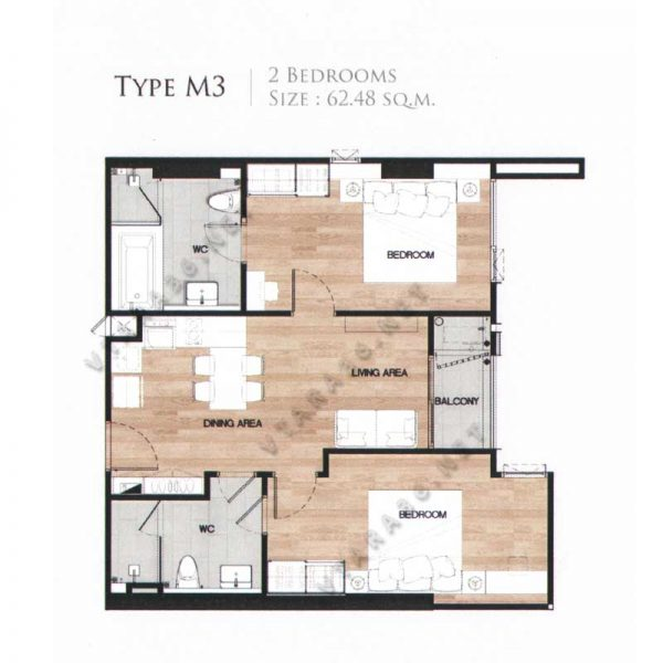 Vtara36-type-m3-2bedroom-vtara36-net