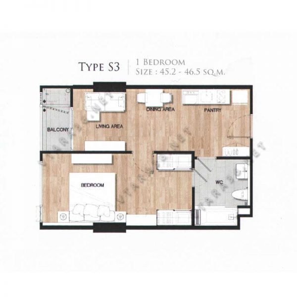 Vtara36-type-s3-1bedroom-vtara36-net